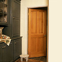 Interior Doors, Wood Interior Doors made of mahogany,knotty alder